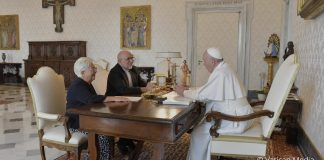 Meeting of Emaus and Jesus with Pope Francis 3